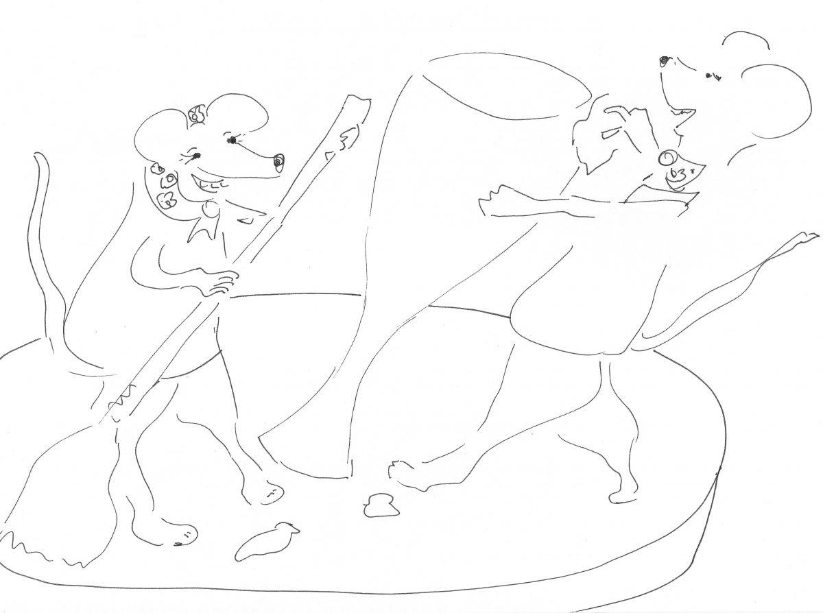 Wenn Mäuse tanzen…